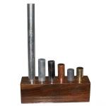 Equal Mass Metal Cylinders Set