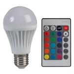 Multicoloured LED bulb